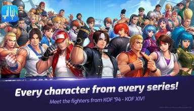 دانلود بازی The King of Fighters ALLSTAR