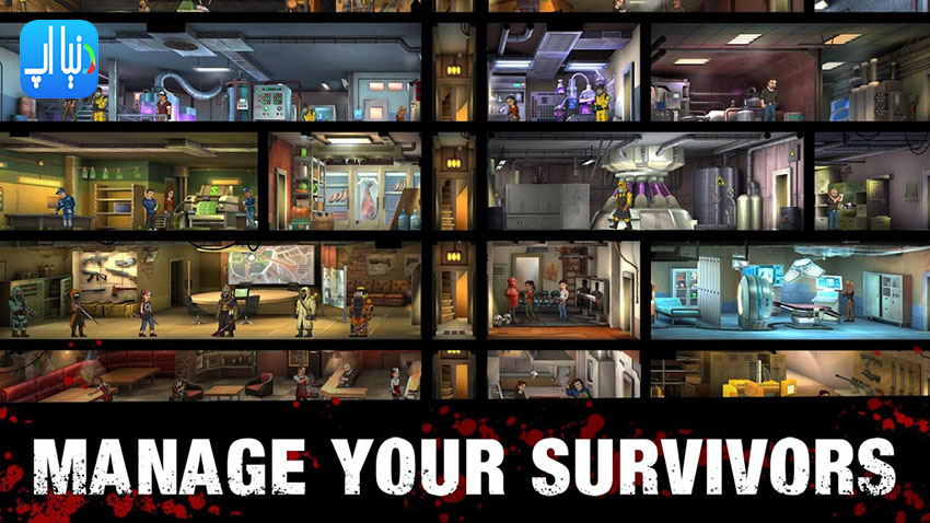 دانلود بازی Zero City: Zombie Shelter Survival